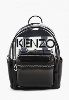 Рюкзак, Kenzo, цвет: черный. Артикул: KE228BWHRWQ0. Аксессуары / Рюкзаки