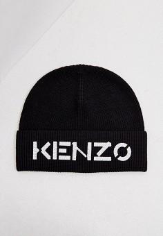 Шапка, Kenzo, цвет: черный. Артикул: KE228CUJRWU1. Аксессуары / Головные уборы / Шапки