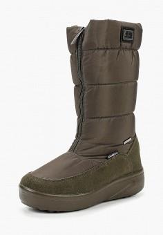 Дутики, King Boots, цвет: хаки. Артикул: KI008AWCVOU1. Обувь / Сапоги / Дутики