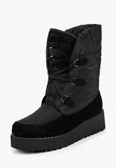 Дутики, King Boots, цвет: черный. Артикул: KI008AWCVOU4. Обувь / Сапоги / Дутики