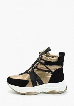 Ботинки, King Boots, цвет: коричневый. Артикул: KI008AWGUSH1. Обувь / Ботинки / Высокие ботинки