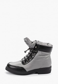 Ботинки, King Boots, цвет: серый. Артикул: KI008AWGUSH9. Обувь / Ботинки / Высокие ботинки