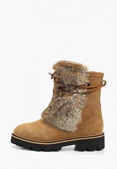 Полусапоги, King Boots, цвет: коричневый. Артикул: KI008AWGUSK3. Обувь / Сапоги / Полусапоги