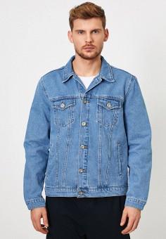 Куртка джинсовая, Koton, цвет: синий. Артикул: KO008EMIHQP3. Одежда / Верхняя одежда / Джинсовые куртки
