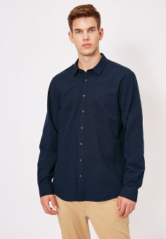 Рубашка, Koton, цвет: синий. Артикул: KO008EMIHQV9. Одежда / Рубашки