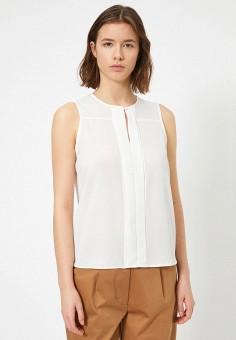 Блуза, Koton, цвет: белый. Артикул: KO008EWITSN5. Одежда / Блузы и рубашки
