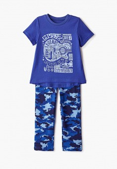 Пижама, КотМарКот, цвет: синий. Артикул: KO011EBGNVK8.