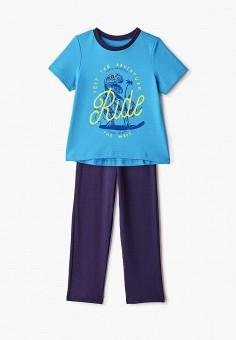 Пижама, КотМарКот, цвет: голубой, синий. Артикул: KO011EBGNVL0.