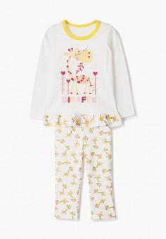 Пижама, КотМарКот, цвет: белый. Артикул: KO011EGAHQD3.