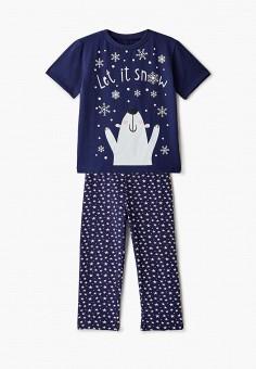 Пижама, КотМарКот, цвет: синий. Артикул: KO011EGHMUH6.