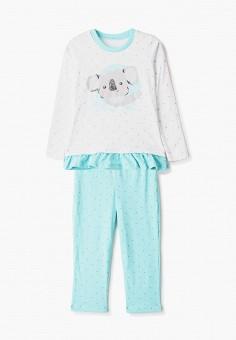 Пижама, КотМарКот, цвет: белый, бирюзовый. Артикул: KO011EGISMM2.