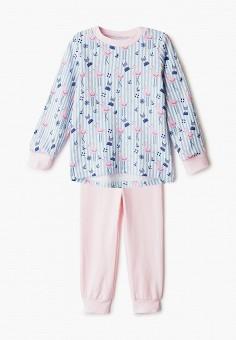 Пижама, КотМарКот, цвет: голубой, розовый. Артикул: KO011EGIZNY8.