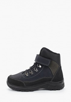 Ботинки трекинговые, Котофей, цвет: черный. Артикул: KO012ABFUCU1. Мальчикам / Обувь / Ботинки