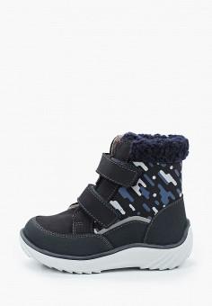 Ботинки, Котофей, цвет: синий. Артикул: KO012ABJSFB0. Мальчикам / Обувь / Ботинки
