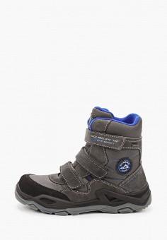 Ботинки, Котофей, цвет: серый. Артикул: KO012ABJSFJ6. Мальчикам / Обувь / Ботинки