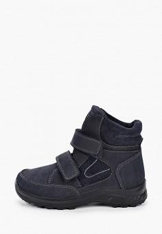 Ботинки, Котофей, цвет: синий. Артикул: KO012ABJUXV8. Мальчикам / Обувь / Ботинки