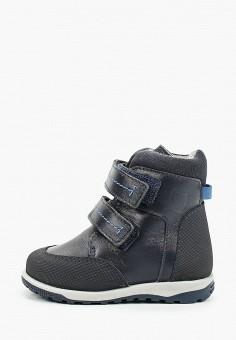 Ботинки, Котофей, цвет: синий. Артикул: KO012ABKDJT1. Мальчикам / Обувь / Ботинки