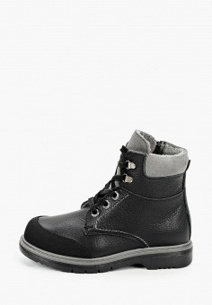 Ботинки, Котофей, цвет: черный. Артикул: KO012ABKDKA8. Мальчикам / Обувь / Ботинки