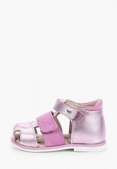 Сандалии, Котофей, цвет: фиолетовый. Артикул: KO012AGJICQ2.