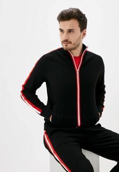 Кардиган, Kors x Tech, цвет: черный. Артикул: KO027EMJUHZ5. Одежда / Джемперы, свитеры и кардиганы / Кардиганы