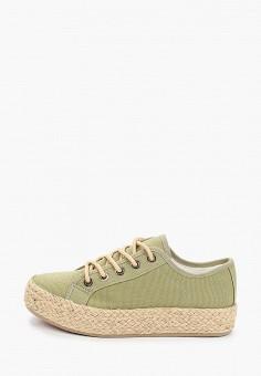 Эспадрильи, Kylie, цвет: зеленый. Артикул: KY002AWJDLD7. Обувь / Эспадрильи