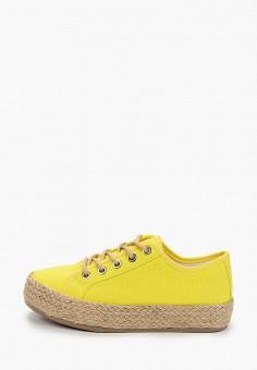 Эспадрильи, Kylie, цвет: желтый. Артикул: KY002AWJDLE0. Обувь / Эспадрильи