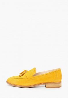 Лоферы, Lamania, цвет: желтый. Артикул: LA002AWISWX3. Обувь / Туфли / Лоферы