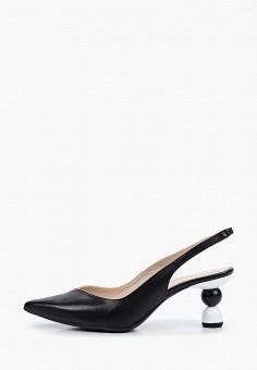 Туфли, Lamania, цвет: черный. Артикул: LA002AWISWZ2. Обувь / Туфли
