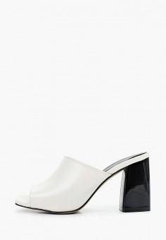Сабо, Lamania, цвет: белый. Артикул: LA002AWISXE4. Обувь / Сабо и мюли