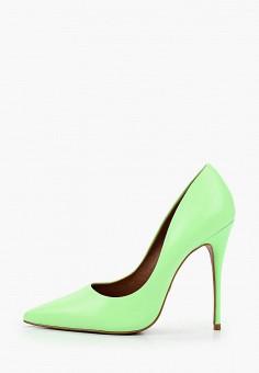 Туфли, Lamania, цвет: зеленый. Артикул: LA002AWJDNV2. Обувь / Туфли