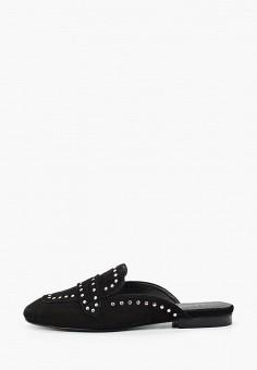Мюли, Lamania, цвет: черный. Артикул: LA002AWJDNW3. Обувь / Сабо и мюли