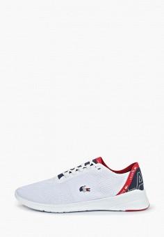 Кроссовки, Lacoste, цвет: белый. Артикул: LA038AMELQJ4.