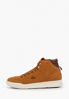 Кеды, Lacoste, цвет: коричневый. Артикул: LA038AMFQKP0.