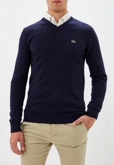Пуловер, Lacoste, цвет: синий. Артикул: LA038EMFQMV8.