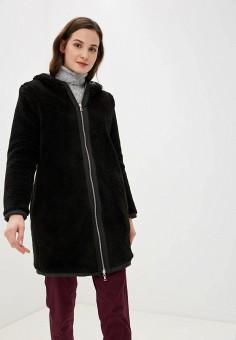 Шуба, Lacoste, цвет: черный. Артикул: LA038EWFQOL2. Одежда / Верхняя одежда / Шубы и дубленки