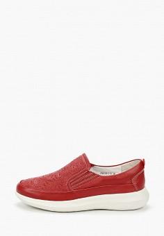 Слипоны, La Grandezza, цвет: красный. Артикул: LA051AWIYJR2. Обувь / Слипоны