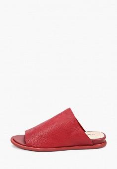 Сабо, La Grandezza, цвет: красный. Артикул: LA051AWIYJW1. Обувь / Сабо и мюли