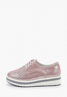 Ботинки, La Grandezza, цвет: розовый. Артикул: LA051AWIYJZ9. Обувь / Ботинки / Низкие ботинки