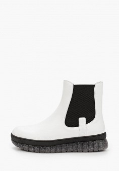 Ботинки, La Grandezza, цвет: белый. Артикул: LA051AWKGBM3. Обувь / Ботинки / Челси