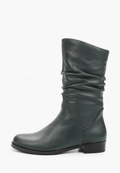 Полусапоги, La Grandezza, цвет: зеленый. Артикул: LA051AWKGBQ4. Обувь / Сапоги / Полусапоги