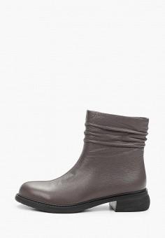 Полусапоги, La Grandezza, цвет: серый. Артикул: LA051AWKGBQ9. Обувь / Сапоги / Полусапоги