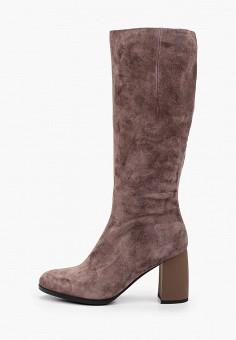 Сапоги, La Grandezza, цвет: коричневый. Артикул: LA051AWKGBR1. Обувь / Сапоги / Сапоги