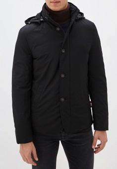 Пуховик, Lab. Pal Zileri, цвет: черный. Артикул: LA059EMGBXU9. Одежда / Верхняя одежда / Пуховики и зимние куртки / Пуховики