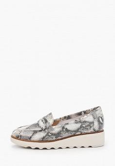 Лоферы, La Coleccion, цвет: серый. Артикул: LA060AWISLO2. Обувь / Туфли / Лоферы