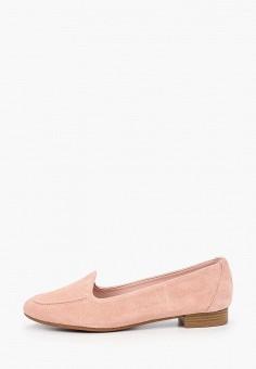 Лоферы, La Coleccion, цвет: розовый. Артикул: LA060AWISLP7. Обувь / Туфли / Лоферы