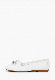 Лоферы, La Coleccion, цвет: белый. Артикул: LA060AWISLP9. Обувь / Туфли / Лоферы