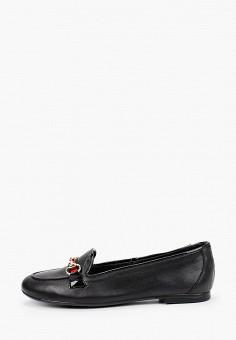 Лоферы, La Coleccion, цвет: черный. Артикул: LA060AWISLQ3. Обувь / Туфли / Лоферы