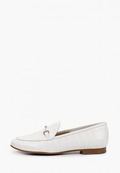 Лоферы, La Coleccion, цвет: белый. Артикул: LA060AWISLR1. Обувь / Туфли / Лоферы