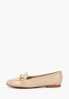 Лоферы, La Coleccion, цвет: бежевый. Артикул: LA060AWISLR5. Обувь / Туфли / Лоферы