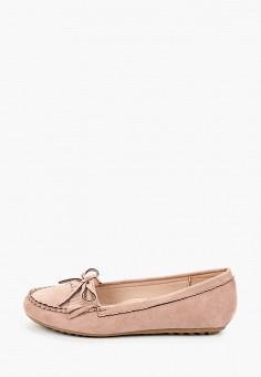 Мокасины, La Bottine Souriante, цвет: розовый. Артикул: LA062AWIVBI2. Обувь / Мокасины и топсайдеры